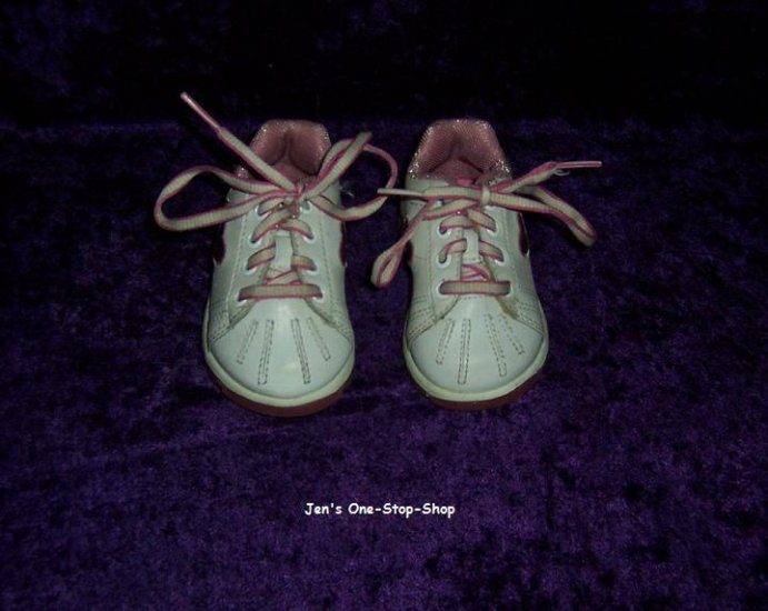 Girls size 3 (Infant) Teeny Toes tennis shoes