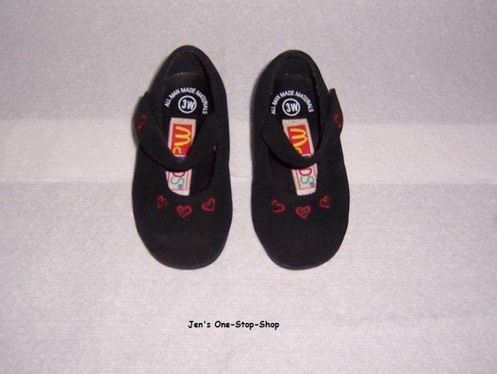Girls size 3W (Infant) McKids dress shoes