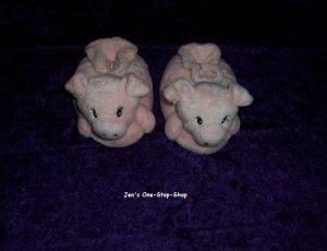 Girls size 3/4 (Infant - medium) pig slippers