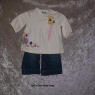 Girls 6-12 month Gap set - shirt is NWT