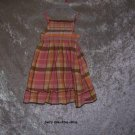 Girls 6-12 month Old Navy plaid dress