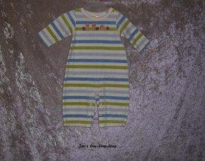 Boys 3-6 month Gymboree striped one piece