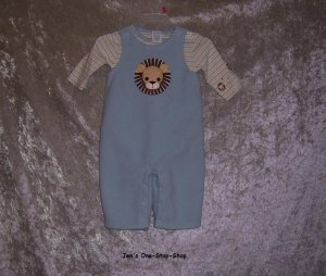 Boys 3-6 month Gymboree 2 piece Lion set