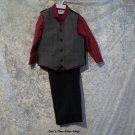 Boys 3T TFW 3 piece suit set