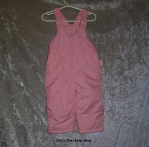 Girls 12 month light pink Millennium snow pants - NWT