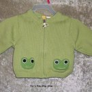 Boys 3-6 month Gymboree Frog sweater