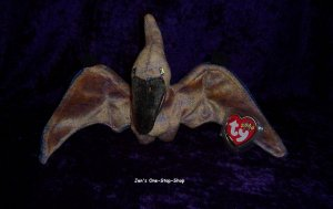Swoop the Pterodactyl Beanie Baby � NWT