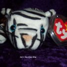 Blizzard the White Tiger Beanie Baby – NWMT