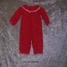 Girls 12-18 month Gymboree Cherries, long sleeved one piece outfit