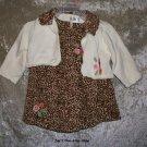 Girls 6-9 month The Children's Place 3 piece dress set