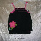Girls 3T Old Navy black and pink 2 piece outfit