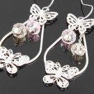 18kGP butterfly  earring  $10