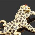 18KGP leopard   Brooch $10