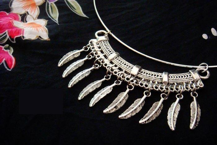 Individualized hand-made necklace    �12