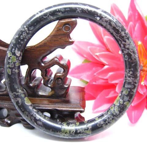 natural Plum blossom jade  bangle  �20