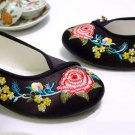 NO.1  embroidered shoes  $ 15