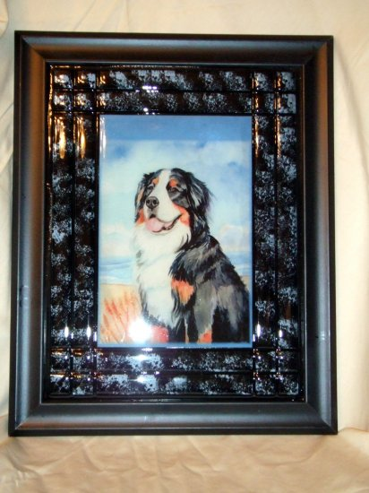 Bernese Mountain Dog 10x13 Tile