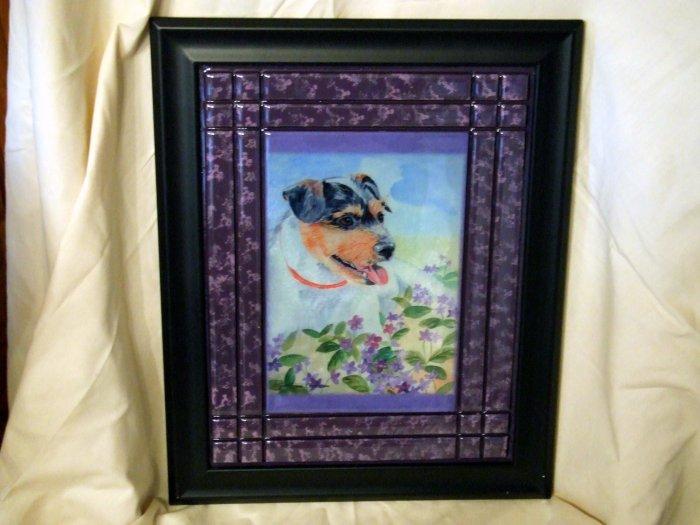 Parson Russell Terrier 8x10 Tile