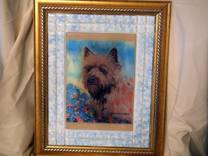 Cairn Terrier 11x14 Tile