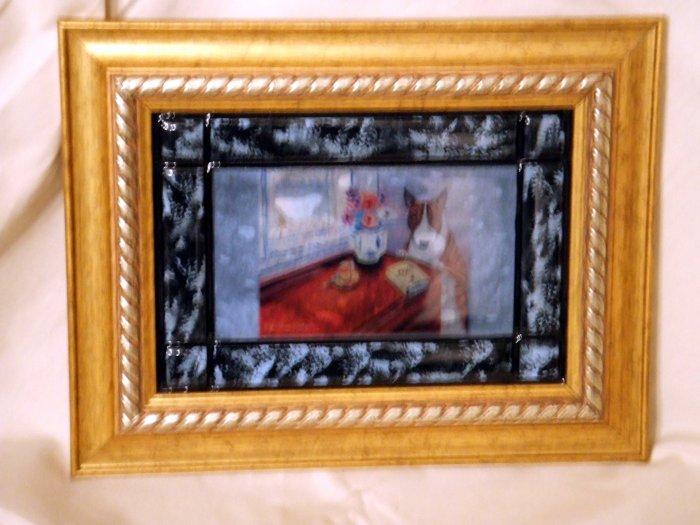 Bull Terrier 5x7 Tile Picture