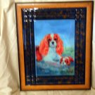Cavalier King Charles Spaniel 11x14 Tile Picture