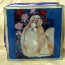 Shih Tzu 8x8 Glass Block