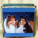 Shetland Sheepdog 8x8 Glass Block Light