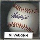 Mo Vaughn Autographed Baseball