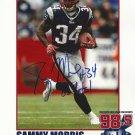 Sammy Morris Autographed 8.5x11