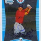 Bubba Bell Autographed Red Sox Card