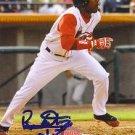 Rafael Cabreja Autographed Red Sox Card