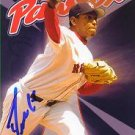 Devern Hansack Autographed Red Sox Card