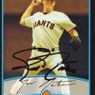Joe Nathan Autographed Giants Card