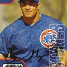 Chris Stynes Autographed Cubs Card
