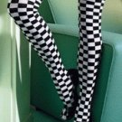 Stockings Checkered Flag ( OS ) Costume Accessory ~igemini.net~