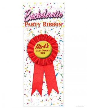 Bachelorette Party Ribbon Girl's Last Night Out ~igemini.net~
