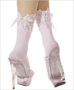 Stockings Lace Up Ankle Anklet ( OS ) ~igemini.net~
