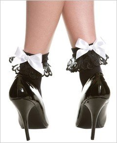 Stockings Bow and Ruffled Anklet ( OS ) ~igemini.net~