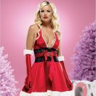 Glamorous Santa Dress Costume ( Med/Large ) ~igemini.net~