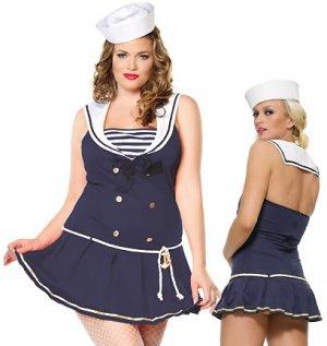 Sailor Dress and Hat Costume ( Plus ) ~igemini.net~