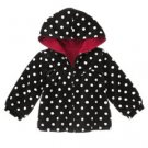 Gymboree HOLIDAY PANDA Dot Velour Hoodie 3T 4T 5T 3 4 5 NEW NWT (40% off)