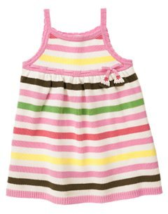 Gymboree TEA FOR TWO Stripe Jumper Dress 2T 2 New NWT (60% off)