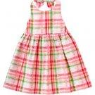 Gymboree WATERMELON PICNIC Plaid Halter Dress 4T 4 New NWT (70% off)