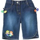 Gymboree MERMAID MAGIC Denim Pants 3 6 M New NWT (80% off)