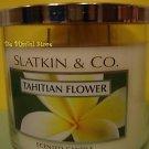 Bath & Body Works Slatkin Tahitian Flower 3 Wick Candle