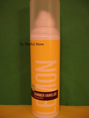 Bath and Body Works Lemon Vanilla Cooling Mist Full Size