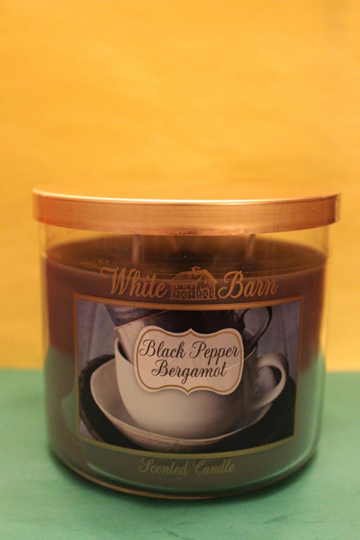 Bath Amp Body Works Original Black Pepper Bergamot Candle 3