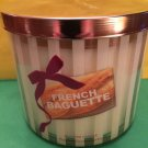 Bath & Body Works French Baguette Candle 3 Wick Large