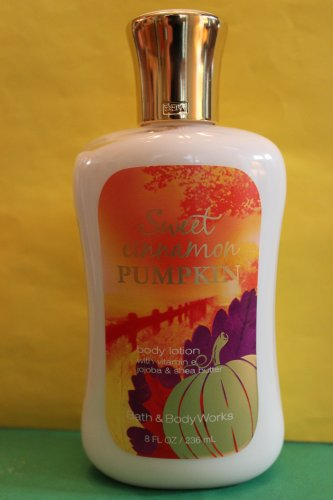 Bath & Body Works Sweet Cinnamon Pumpkin Lotion 8 oz