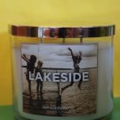 Bath & Body Works Lakeside Candle 3 Wick Large